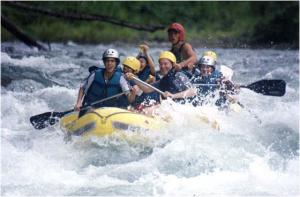 White Water Rafting Tour Savegre River
